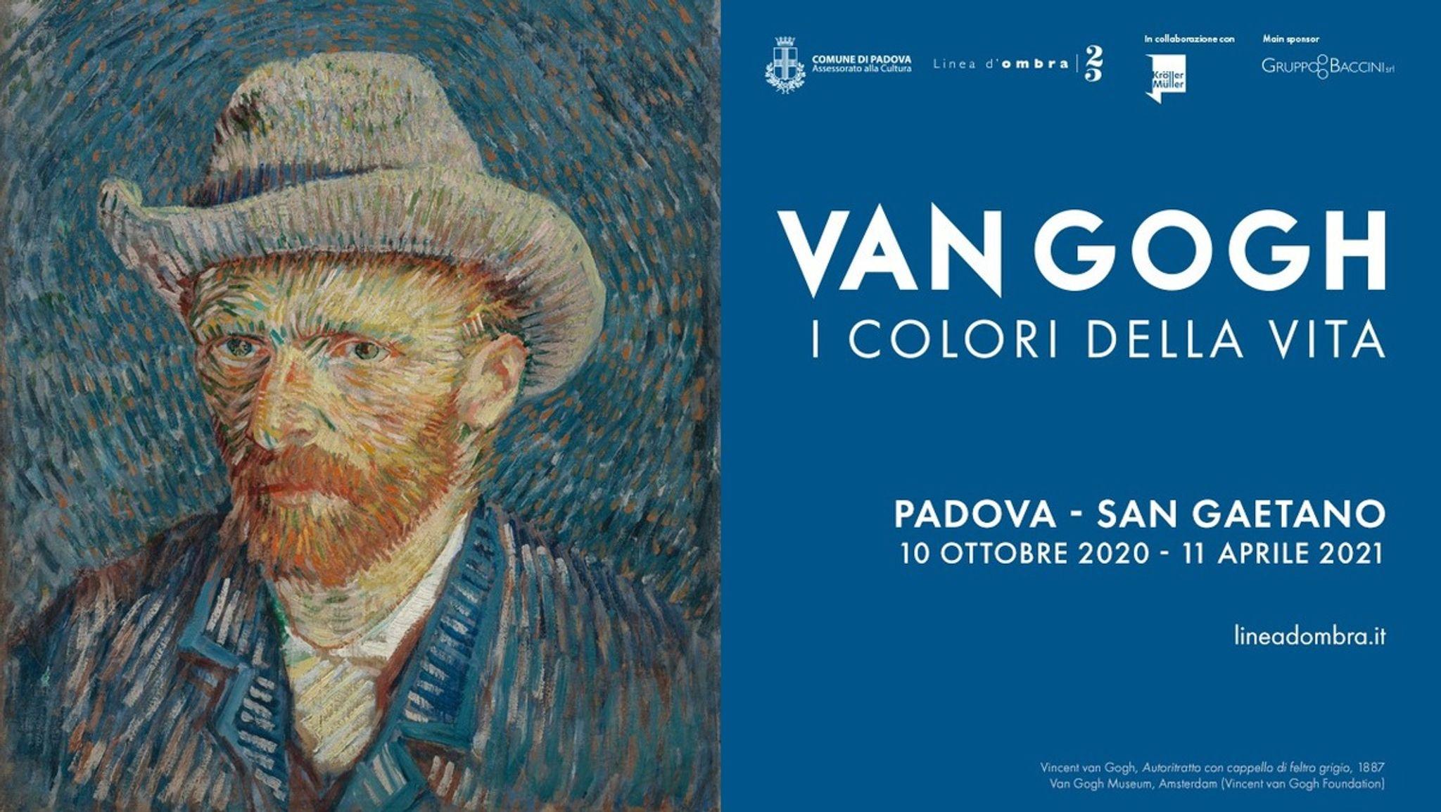 "Exhibition: ""Van Gogh. I colori della vita"""