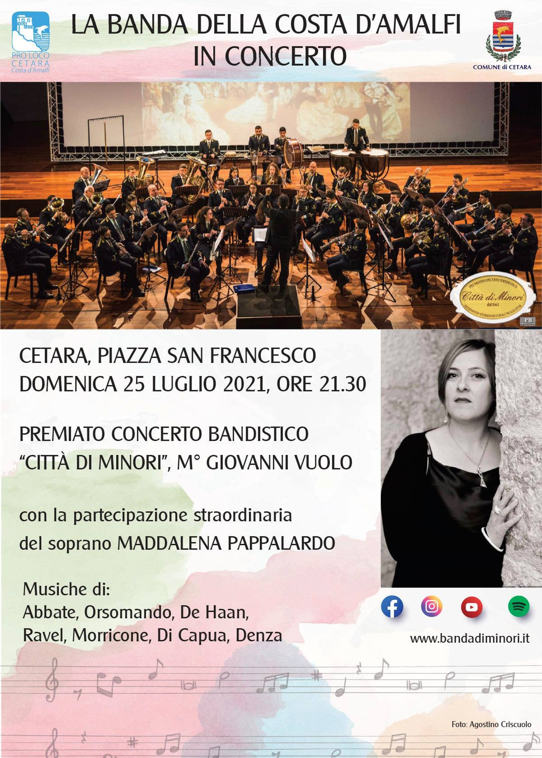 The Band of the Amalfi Coast in concert