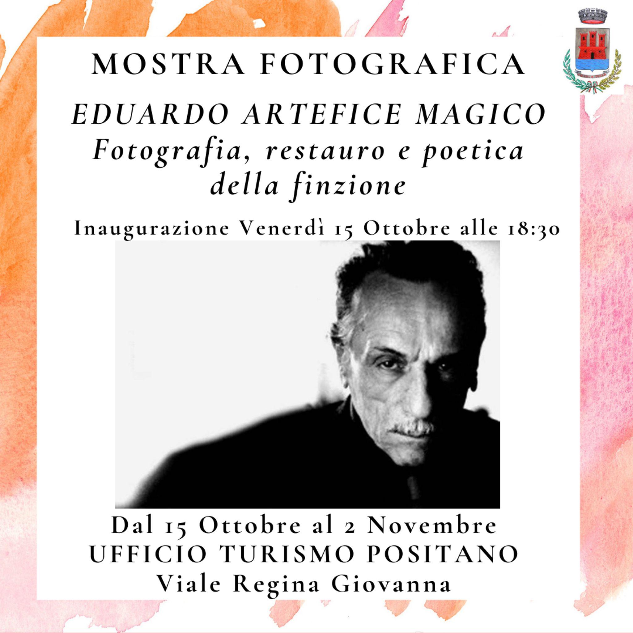 "Eduardo Artefice Magico"" photographic exhibition"
