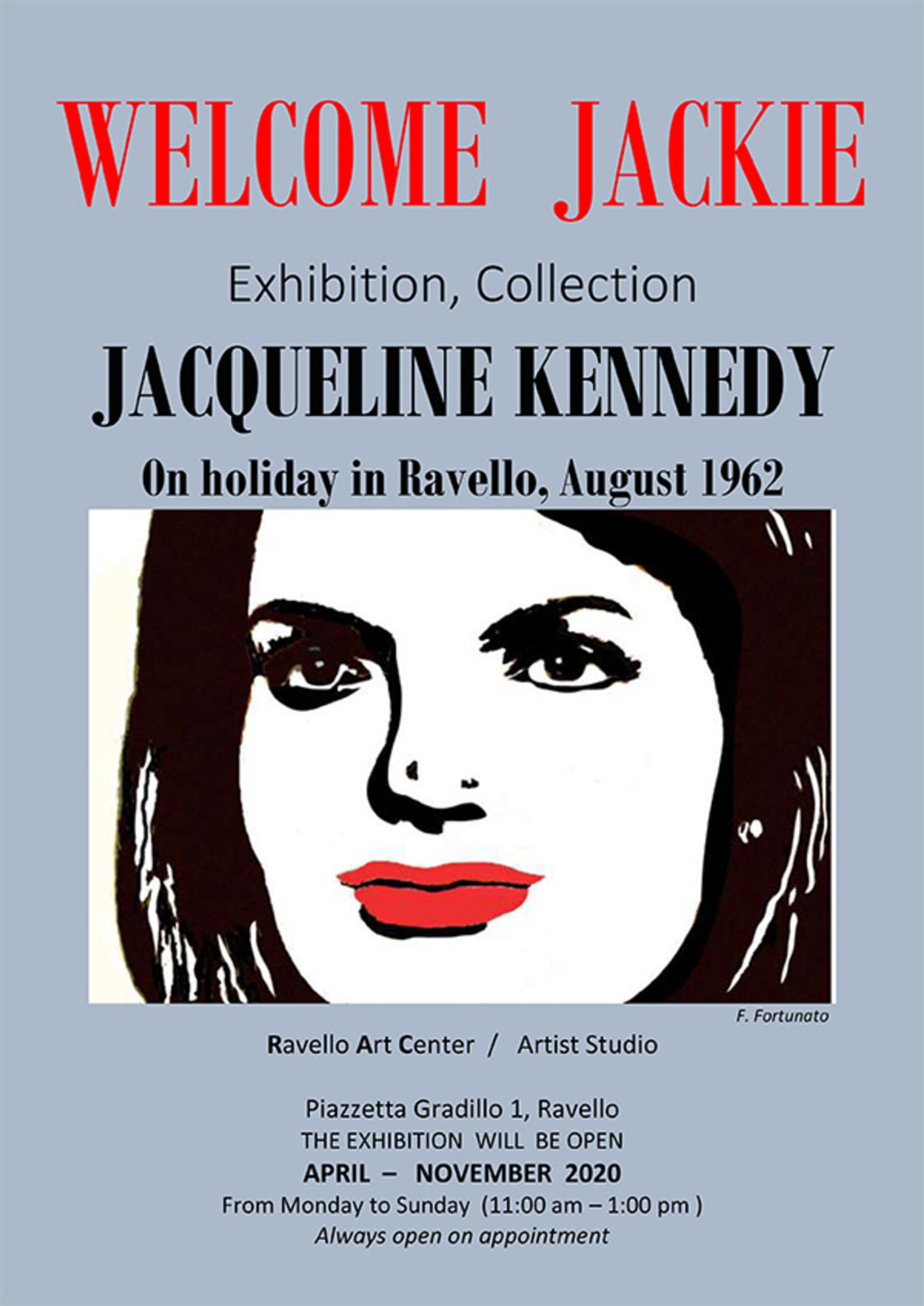 Welcome Jackie: Exhibition, Collection