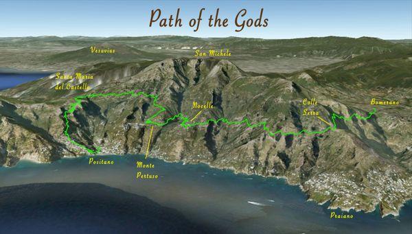 path of the gods