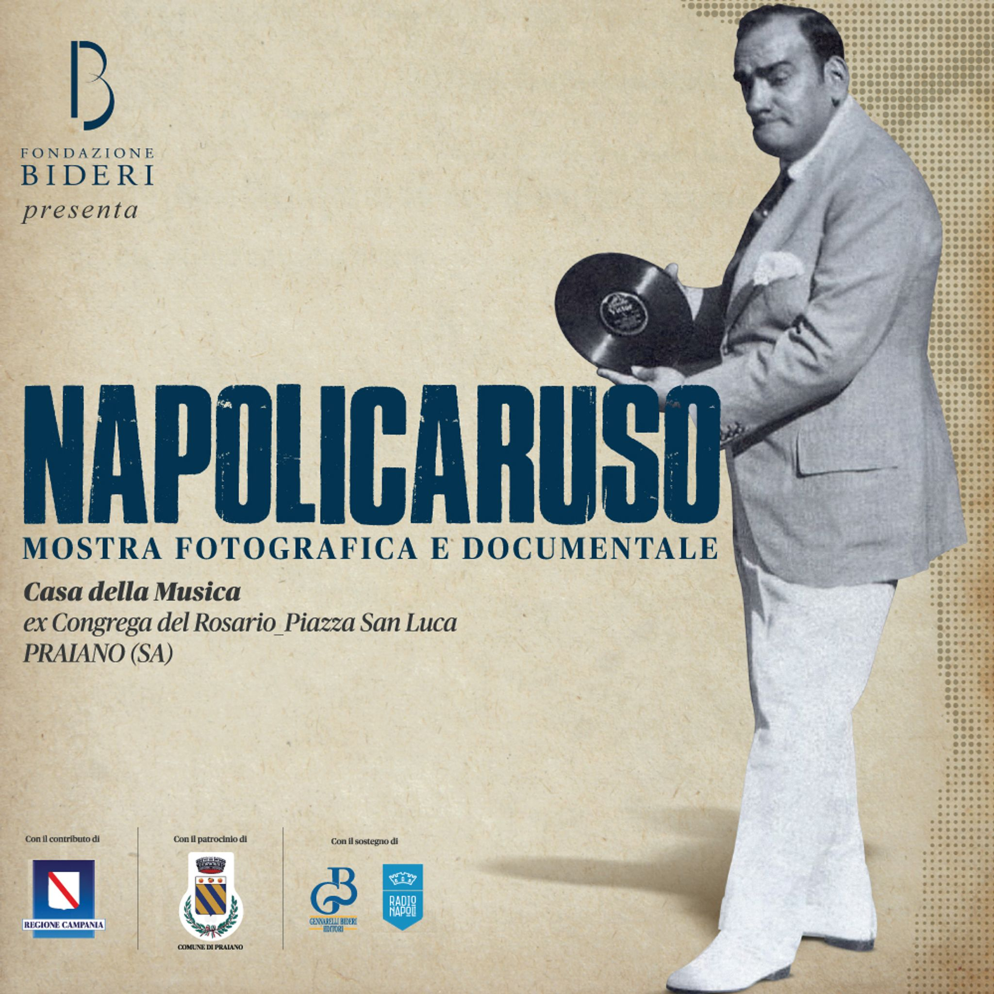 NapoliCaruso, photographic and documentary exhibition