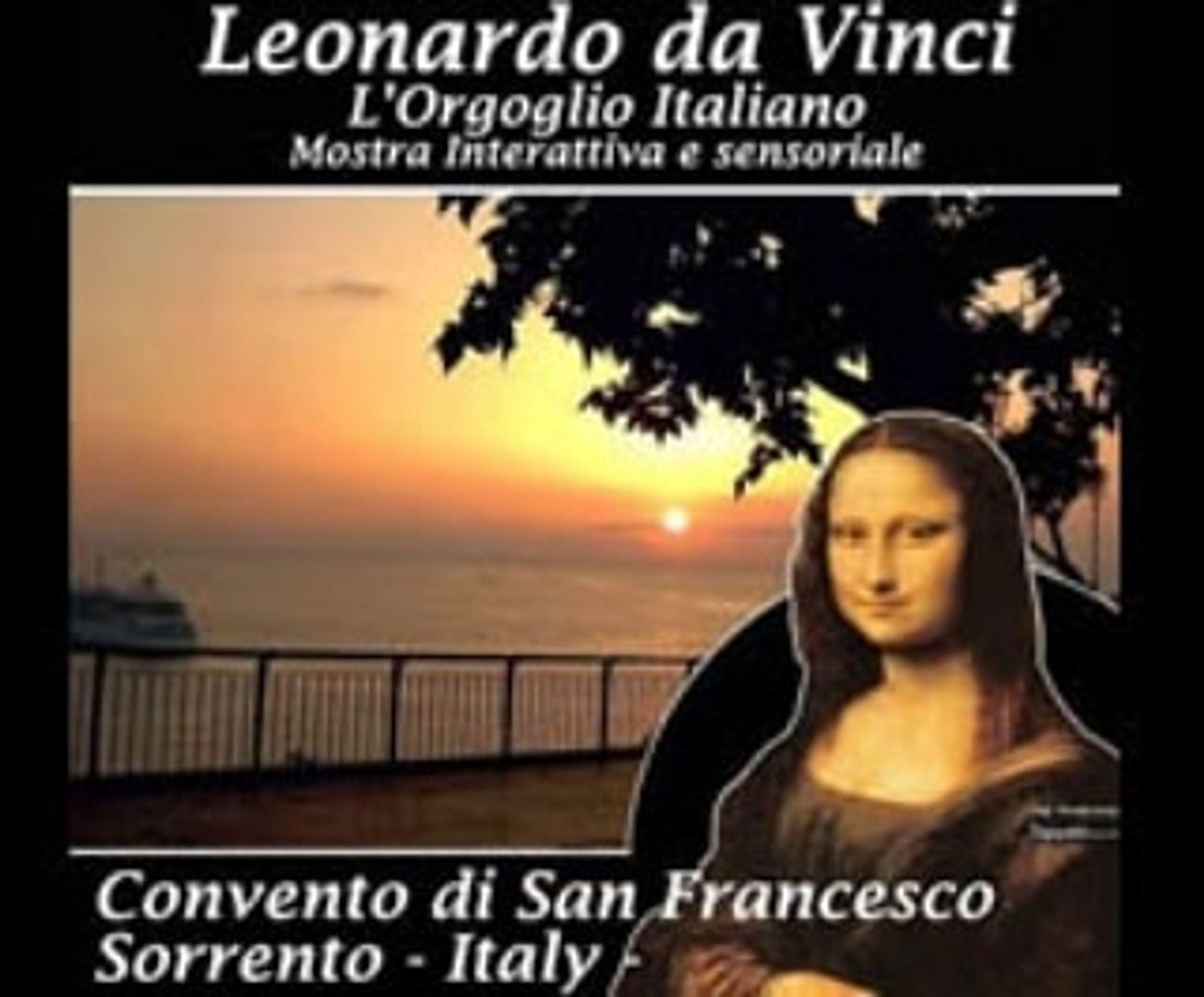 Leonardo Da Vinci, interactive exhibition