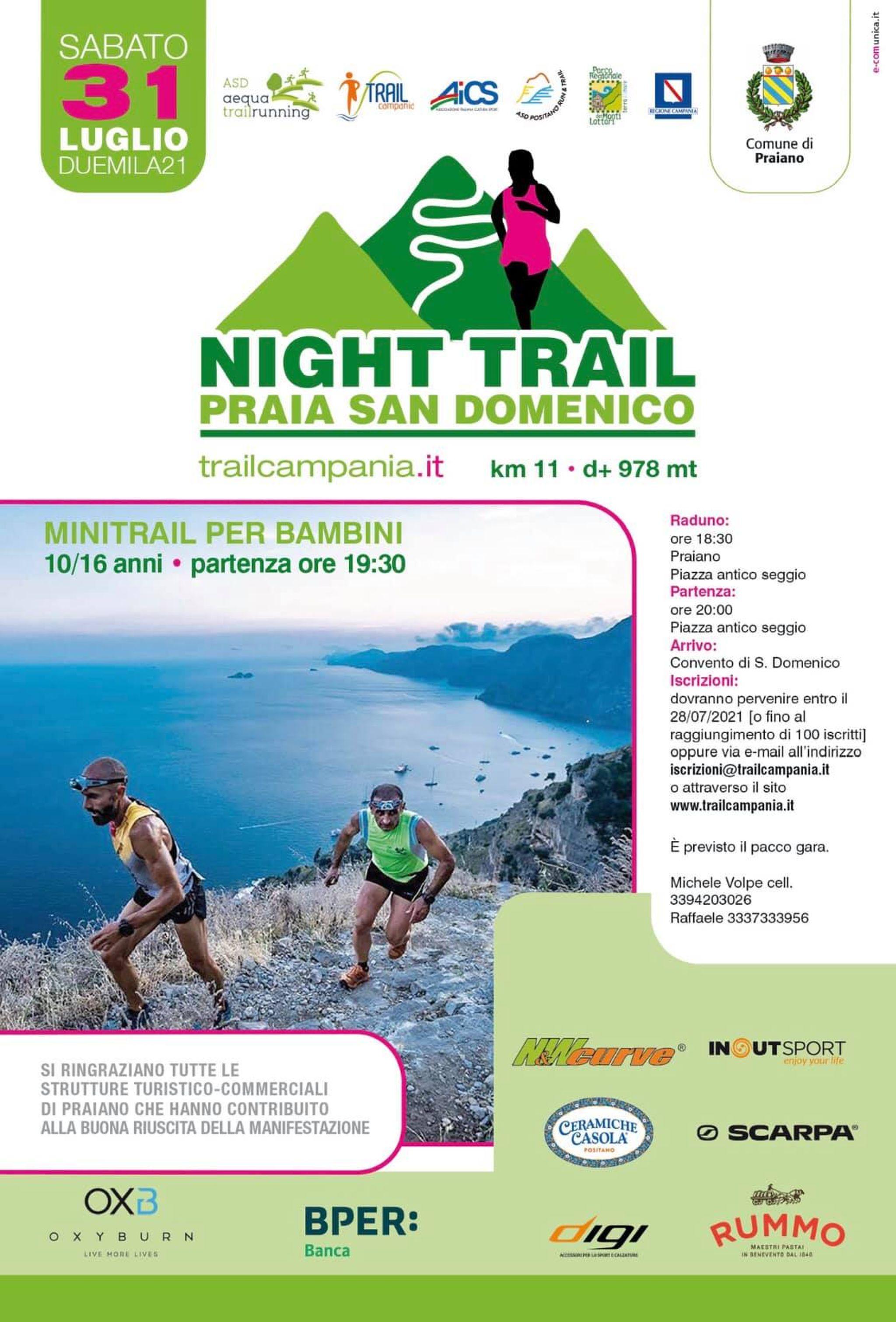 Night Trail Praia San Domenico