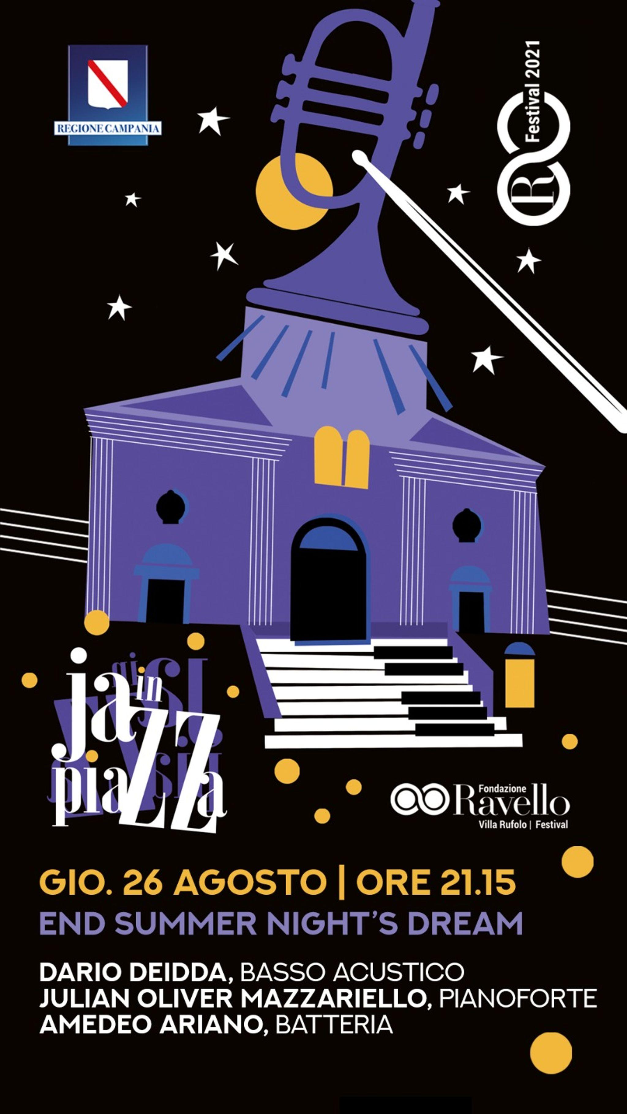 Jazz in Piazza: End summer night's dream